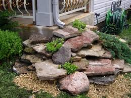 extraordinary rocks in landscaping ideas 11 with additional decor