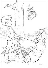 winnie pooh coloring pages wall