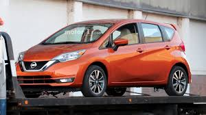 compact nissan versa 2017 nissan versa note spied undisguised with updated look