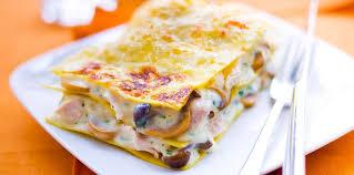 recettes cuisine actuelle lasagnes au poulet et aux chignons facile et pas cher recette