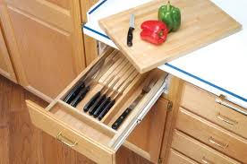 replacement cutting boards for kitchen cabinets system for knives includes cutting board to replace existing drawers