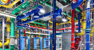 color coded pipes2 u2022 retail store painting