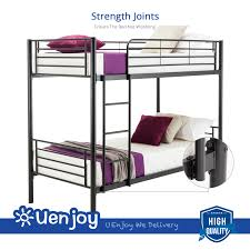 Metal Bunk Beds Frame Twin Over Twin Ladder Bedroom Dorm For Kids - Metal bunk bed ladder