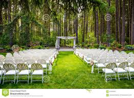 oregon outdoor wedding venues outdoor wedding venue in oregon stock image image 61055937