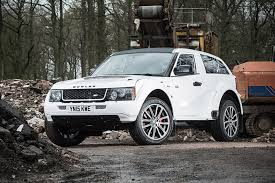 customized range rover 2017 the bowler exr s is a supercar disguised as a range rover