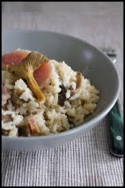 comment cuisiner des chanterelles recette risotto aux chanterelles et au jambon fumé 750g