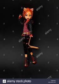 monster high doll toralei daughter of a werecat with cat eyes and