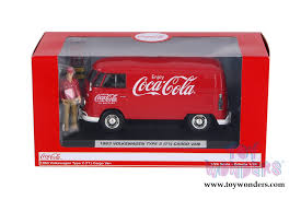 1963 volkswagen t1 coca cola cargo with delivery driver 424062