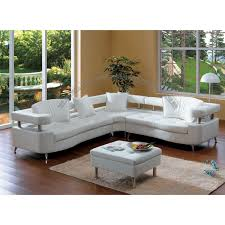 Furniture Beige Sectional Sofa With Eurway For Traditional Living
