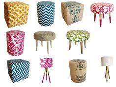 never too many ottomans furniture fun pinterest ottomans and