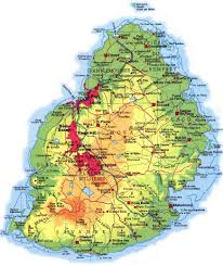 Mauritius Location In World Map by Mauritius Map Map Of Port Louis Part I West Side U0026 Part Ii