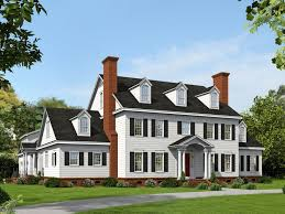 Luxury Colonial House Plans Colonial House Plans Premier Luxury Colonial Home Plan 062h
