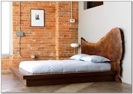 wooden platform bed frame queensize 10inch high rise bed frame