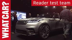 2017 range rover velar reader review what car youtube