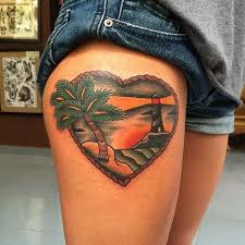 heart tree tattoo by forever tattoo