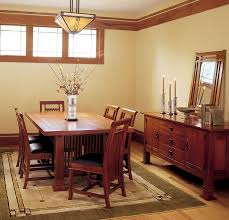 mission style dining room craftsman style home interiors home there are ways to add