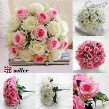 Fake Wedding Flowers Potted Rose Dried U0026 Artificial Flowers Ebay