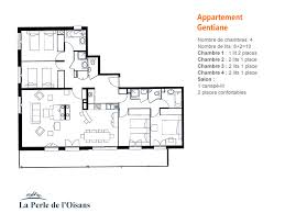 location appartement 4 chambres plan appartement 4 chambres