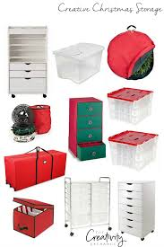 christmas storage ideas and products