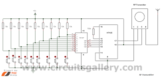 multi channel remote control system circuits gallery