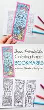 free printable coloring page bookmarks dawn nicole designs