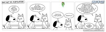 say no to mistletoe dog u0027n u0027cat