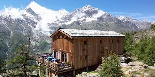 Cabane En Montagne Refuges De Montagne