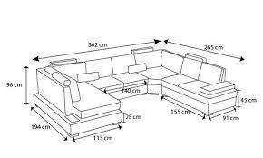 hauteur assise canapé canape angle sur mesure canape sur mesure canape modulable canape