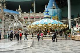 is a rollercoaster magic island lotte world