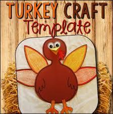 turkey craft template turkey cut and paste craft tpt