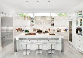grey kitchen cabinets wood floor 30 gorgeous grey and white kitchens that get their mix right