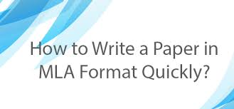 how to write a mla format paper mla format paper how to meet all necessary requirements