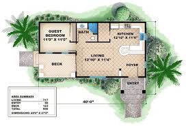 guest house floor plan quaint cottage guest house 66262we architectural designs