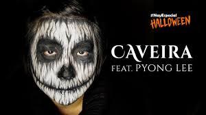 Halloween Skull Makeup Tutorial