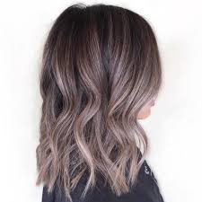 blonde hair with silver highlights silver highlights for brown hair 60 balayage hair color ideas with
