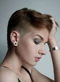 very short pixie hairstyle with saved sides best 25 short haircuts with shaved side unique kitchen design