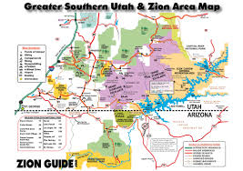 Sandy Utah Map by Southern Utah U0026 Zion Area Map Utah State U0026 National Parks Guide
