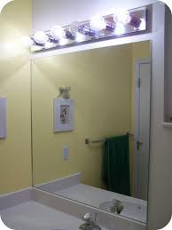 mirror frameless bathroom mirror brushed nickel mirror white