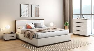compact queen bed baltoro high gloss hydraulic storage compact bedroom set urban ladder