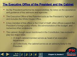 Cabinet Responsibilities Magruder U0027s American Government Ppt Download