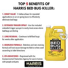 How To Check For Bed Bugs At Hotel Amazon Com Harris Bed Bug Killer Liquid Spray With Odorless And