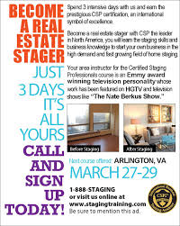 washington d c area home staging course taught by celebrity home