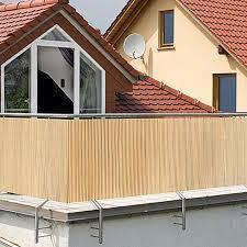 balkon bambus sichtschutz gardol comfort sichtschutz bambus optik 300 x 90 cm bauhaus