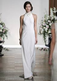 simple wedding dresses for brides sleek and simple wedding gowns for the modern weddingbells