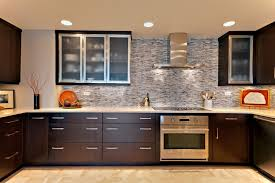 frosted glass kitchen cabinets contemporary with alumnium for