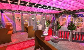 mod the sims neon bouquet wedding chapel no cc