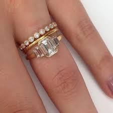 emerald cut wedding band best 25 emerald wedding bands ideas on wedding ring