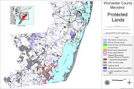 Md Map Natural Resources Maps Worcester County Maryland