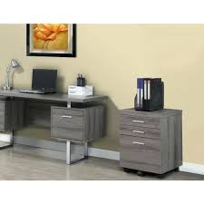 home depot office storage cabinets 3 drawer file cabinet with castors in dark taupe reclaimed look