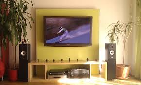 fernseher wand deko deko tv wand